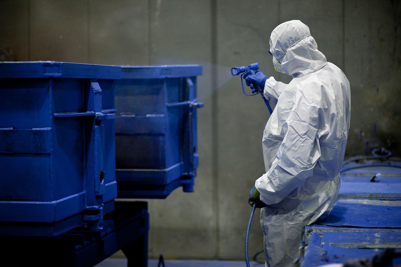 Anti-Corrosive treatment (metal painting)